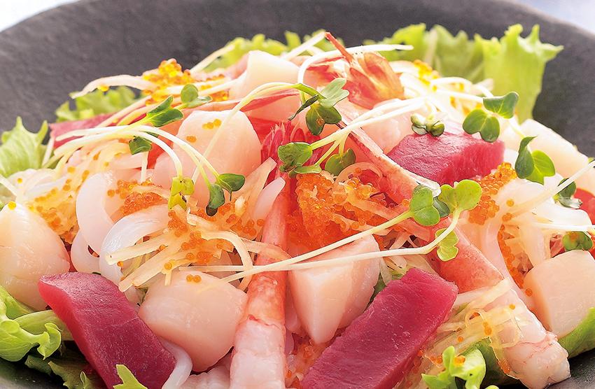 海鮮サラダ
