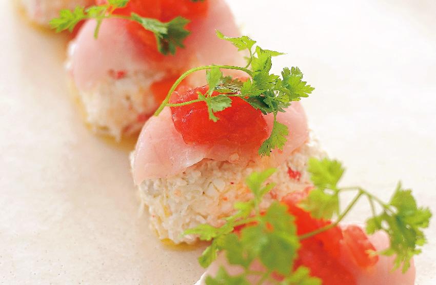 金目鯛の前菜